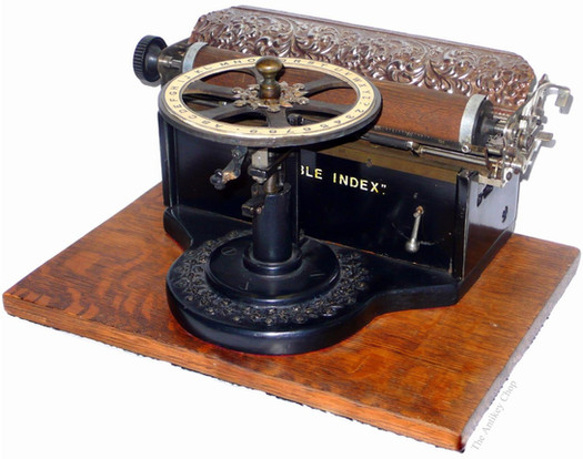 The Visible Index Typewriter