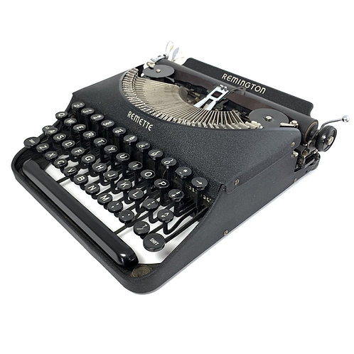 Restored Remington Remette Portable Typewriter