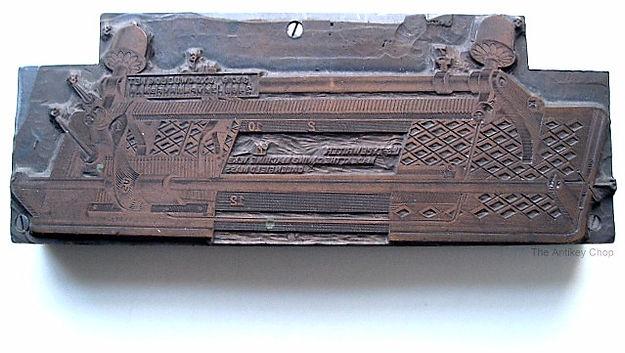 U.S. Typewriter Print Block