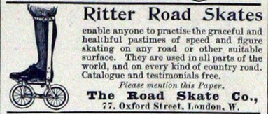 Ritter Road Skates Ad