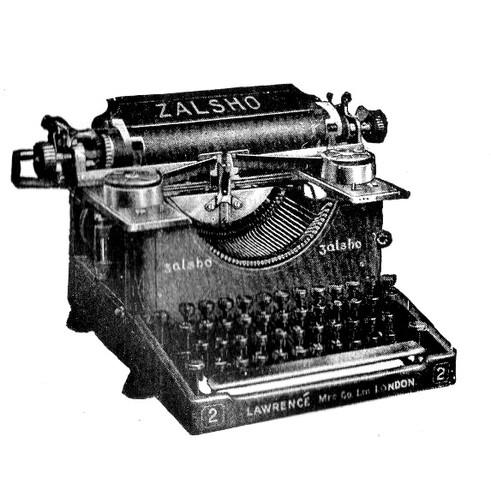 Zalsho Typewriter