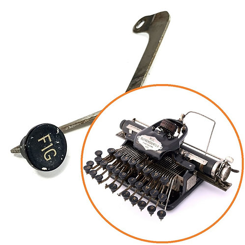 Blickensderfer No.5 Typewriter FIG Lock Key Assembly Part