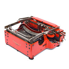 Red Corona Special No.3 Folding Typewriter