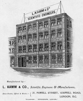 Leo Kamm (Zerograph) Factory