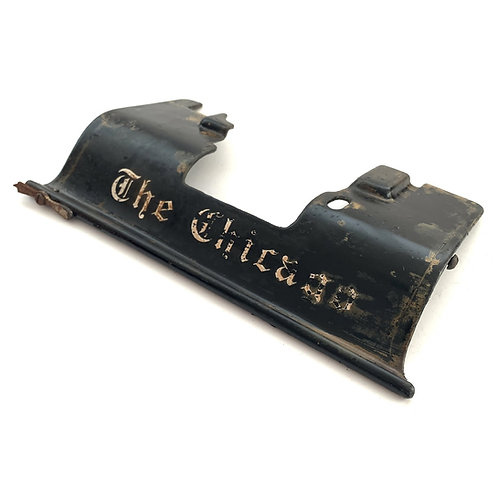 Chicago No.1 Typewriter Top Plate