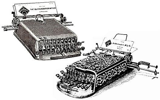Blickensderfer No.1 & No.3 Typewriters