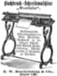 Westphalia Typewriter