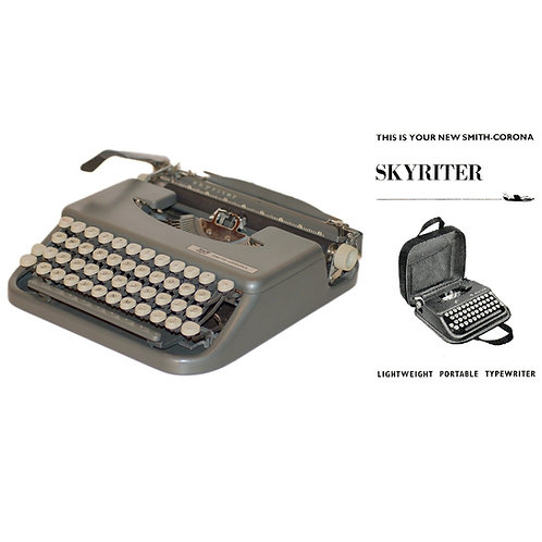 Smith Corona Skyriter 4Y Series Typewriter Instruction Manual