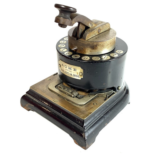 Acme Check Protector Perforator s.n.1195