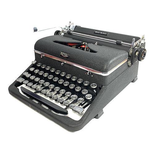 Restored Royal Quiet de Luxe Portable Typewriter (Excellent)