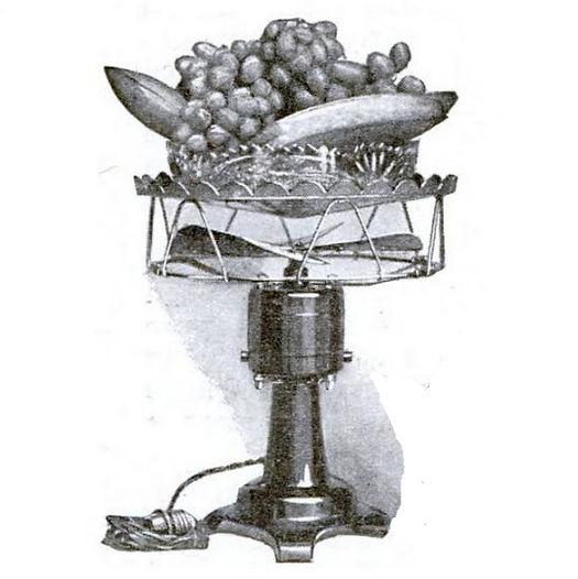 Horizonal Fan with Fruit Basket