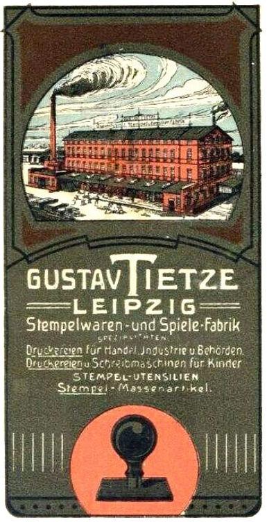 Gustav Tietze Factory ca.1913