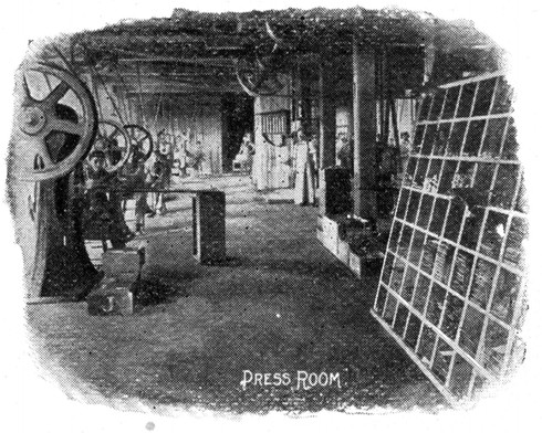 Blickensderfer Typewriter Factory