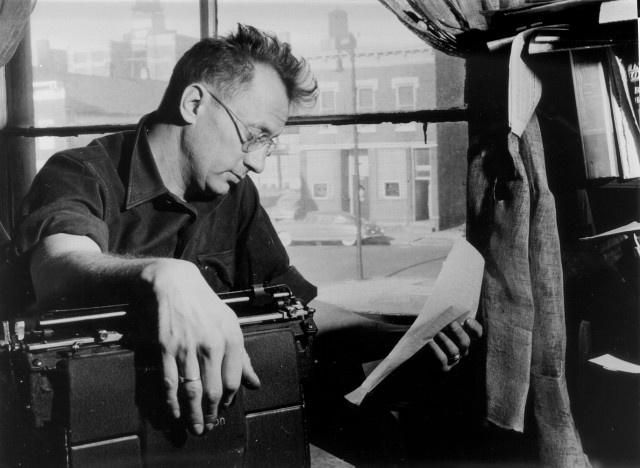 Writer Nelson Algren