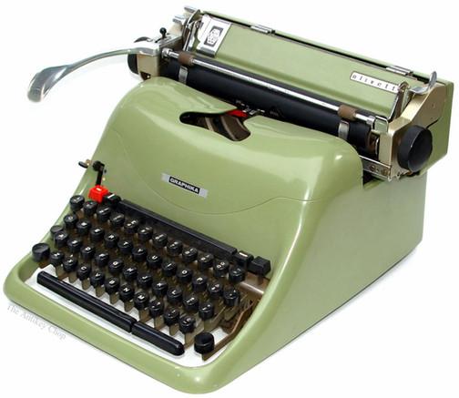 Olivetti Graphika Typewriter