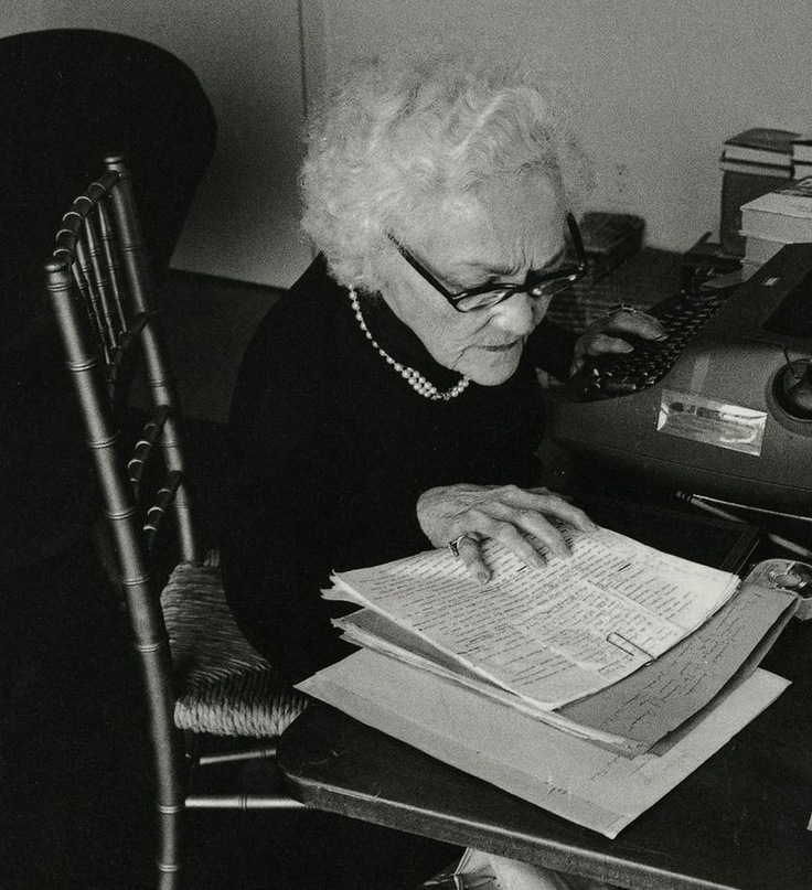 Journalist Katherine Anne Porter