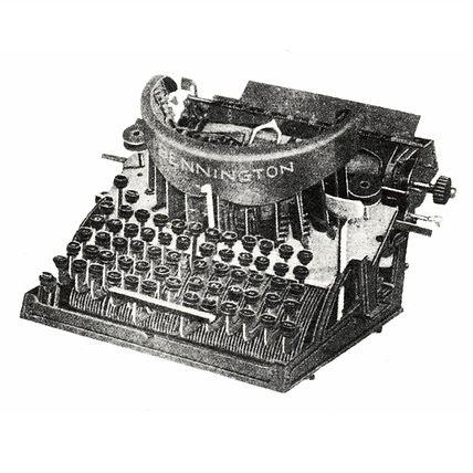 Bennington Typewriter