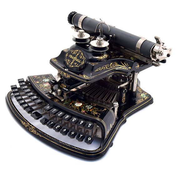 Crandall New Model Typewriter