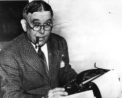 Writer H.L. Mencken