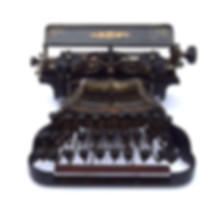 Commercial Visible Model A Typewriter
