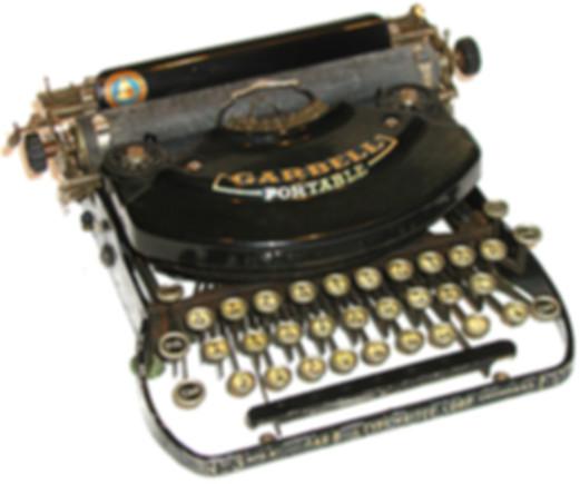 Garbell Typewriter