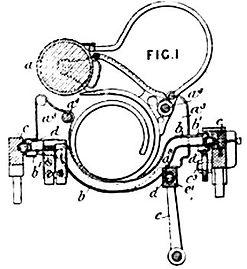 North's Typewriter Paper Basket Patent