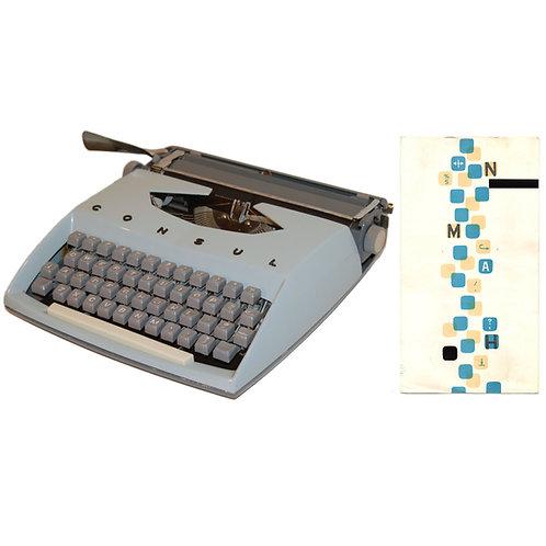 Consul 231 Typewriter Instruction Manual