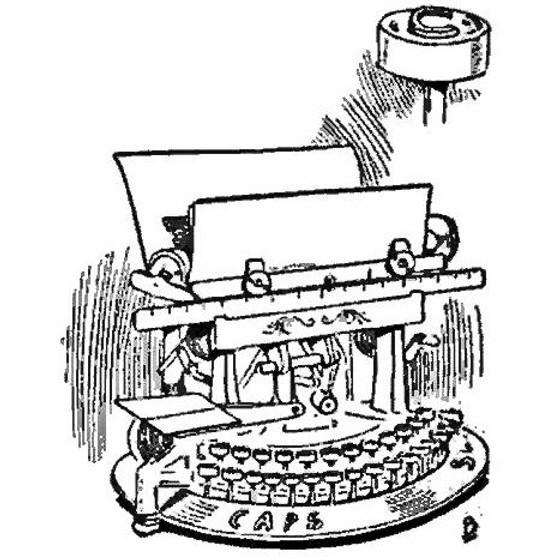 Todds Improved Edison Typewriter