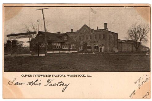 Oliver Typewriter Factory