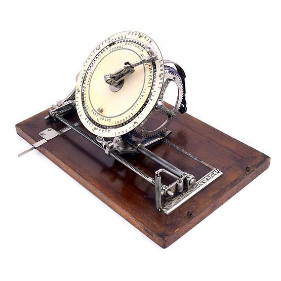Diskret Typewriter