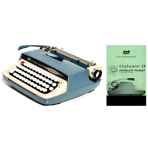 Smith Corona Galaxie II Typewriter SCM Instruction Manual