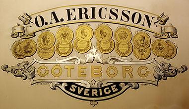 O.A. Ericsson Goteborg Sverige