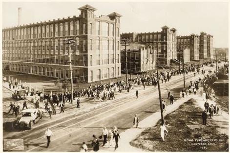 Royal Typewriter Factory ca.1930