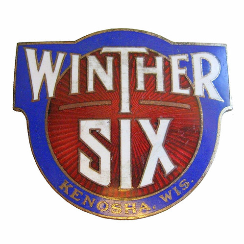 Winther Six Radiator Emblem