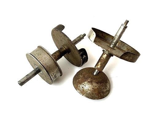 Ribbon Spool Holder, Mainspring & Bell for Wellington Typewriter