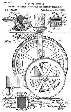 Dart Typewriter Patent 1893