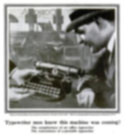 Corona No.3 Folding Typewriter Ad