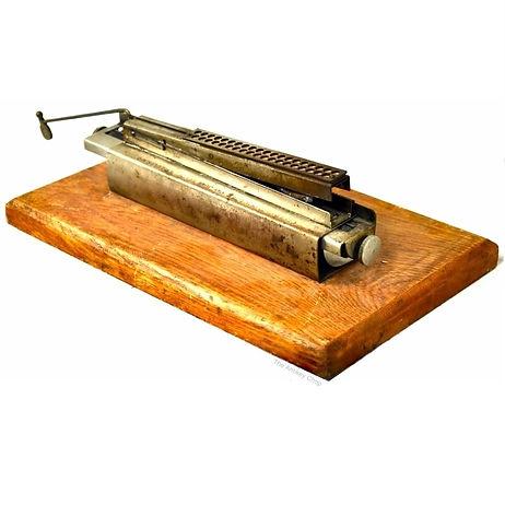 Coffman Typewriter