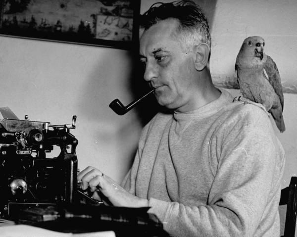 Dramatist Gene Fowler