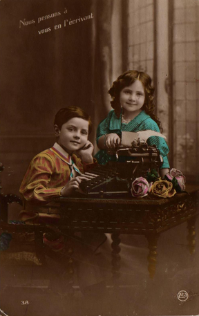 Smith-Premier Typewriter Postcard