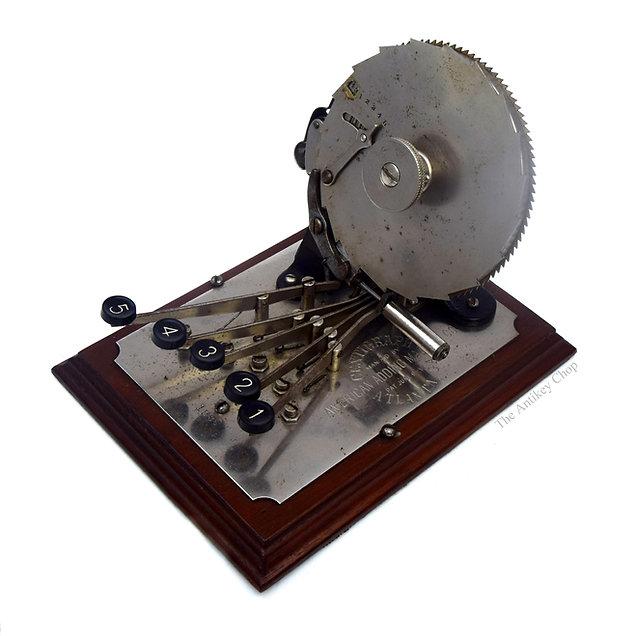 Centrigraph Adding Machine