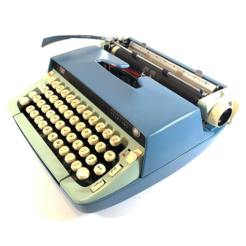 Restored Smith Corona Sterling Portable Typewriter