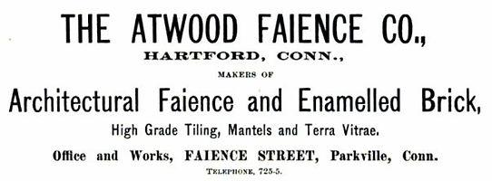 Atwood Faience Company Ad