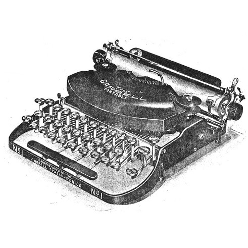 The Garbell Portable Typewriter