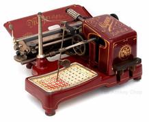 Mignon No.2 Typewriter Red