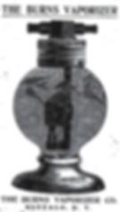 The Burns Vaporizer Co., Credit: Chautauqua County Historical Society, Westfield, NY