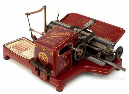 Mignon No.2 Typewriter