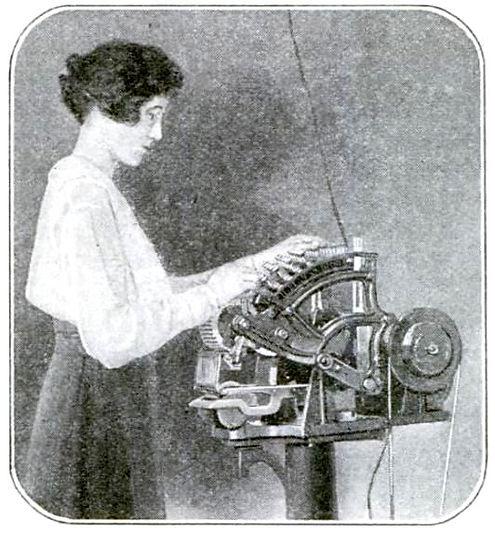 Linen Marking Typewriter
