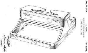 Royal Standard Portable Patent