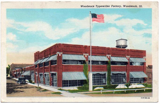Woodstock Typewriter Factory